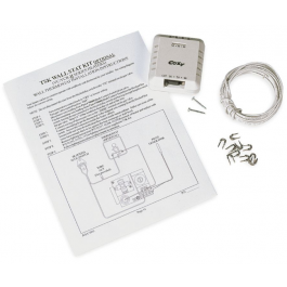 Pwhs Cozy Vented Console Heater Wall Thermostat Kit Tsk