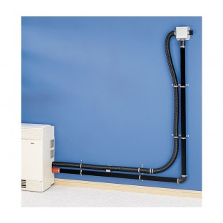 Cozy Hi-Efficient Direct Vent Wall Furnace 5' Vent / Exhaust Kit HEVK5