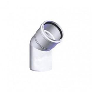 "Z-Flex Z-Dens 2"" 45 Degree Elbow - White (2ZDE245)"