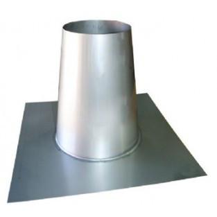 "Z-Flex Z-Vent 8"" Flat Flashing  Stainless Steel Venting (2SVDF08)"