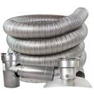 "Z-Flex 4"" x 45' All Fuel Stainless Steel Kit (2ZFLKIT0445)"