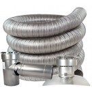 "Z-Flex 8"" x 50' All Fuel Stainless Steel Kit (2ZFLKIT0850)"