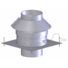 "Z-Flex Z-Dens 6"" Round Chimney Cover (2ZDCC6)"