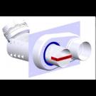 """Z-Flex Z-Dens 2"""" Flexible Base to Collinear (2ZDFBCL2)"""