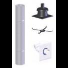 "Z-Flex Z-Dens 2"" x 35' Chimney Flexible Kit (2ZDFK235)"