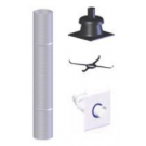"Z-Flex Z-Dens 3"" x 25' Chimney Flexible Kit (2ZDFK325)"