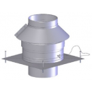 "Z-Flex Z-Dens 3"" Round Chimney Cover (2ZDRCC3)"