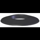 """Z-Flex Z-Dens 3"""" Black Wall Plate (2ZDWPB3)"""