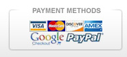 Pro Water Heater Supply accepts all major credit cards and supports Google Checkout and Paypal.
